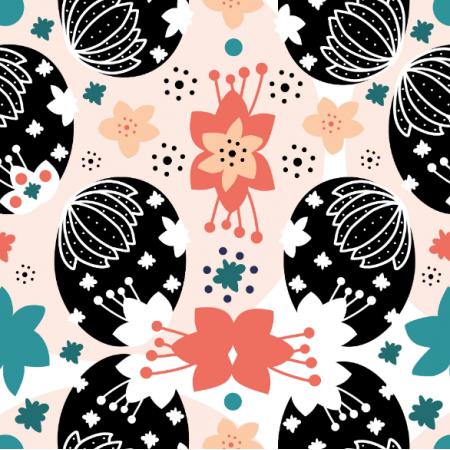Fabric 14524 | wielkanocne pisanki