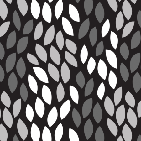Fabric 14547 | leaves shapes