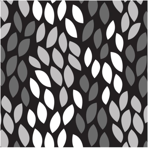 Tkanina 14547 | leaves shapes