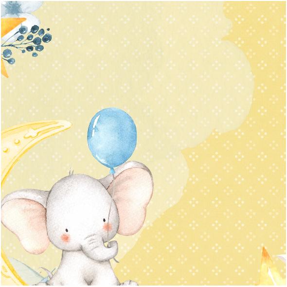 Fabric 14556 | Pillow baby boy