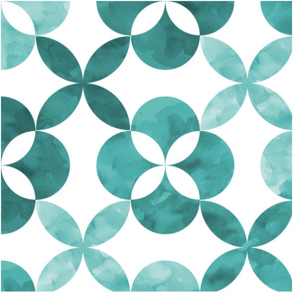 Fabric 14564 | geometric tiles