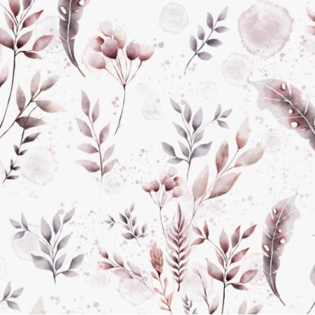 Fabric 14574 | Pastelowy ogrÓd