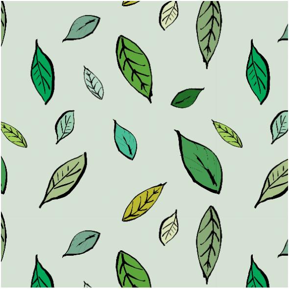 Fabric 14592 | Listki