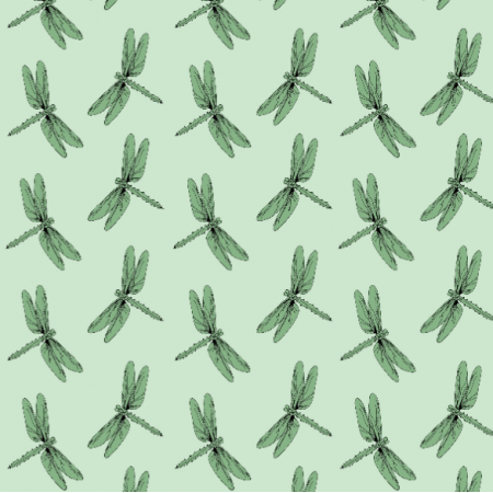 Fabric 14606 | Ważki