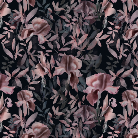 Tkanina 14615 | Moody floral