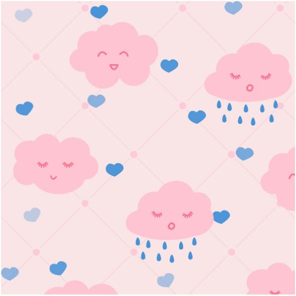 Fabric 14669 | clouds