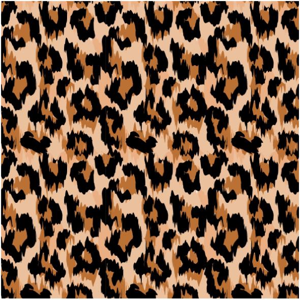 Fabric 14682   pantera klasyczna