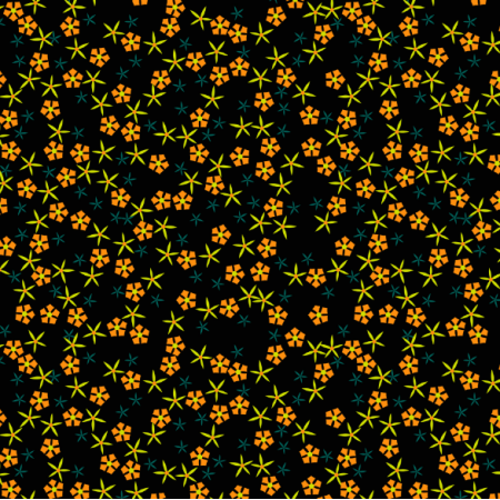 Tkanina 14686 | Meadow flowers