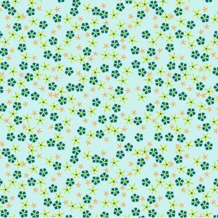 Tkanina 14690 | Meadow flowers