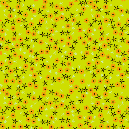 Tkanina 14691 | Meadow flowers