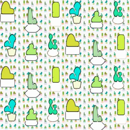 Fabric 14699 | Kaktusy