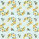 Tkanina 14763 | Angielskie róże yellow