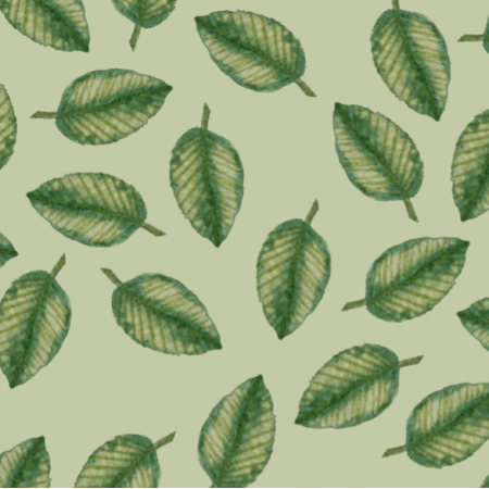 Fabric 14817 | Leaves me green