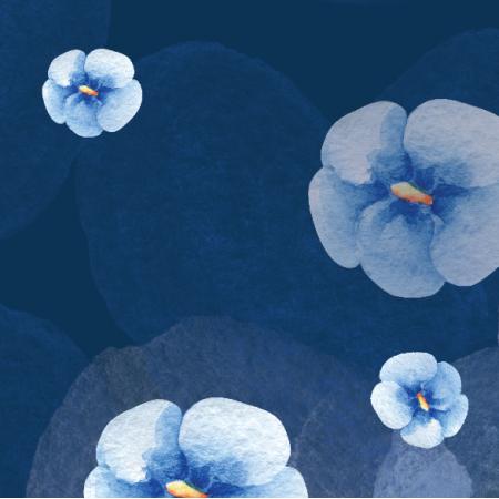 14821 | Fiolki blue