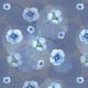 Tkanina 14822 | Fiolki light blue