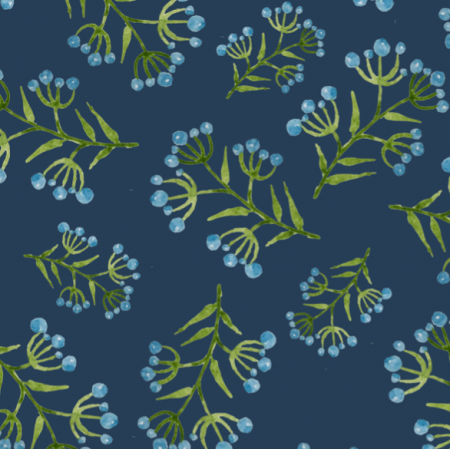 Fabric 14829 | Something in blue