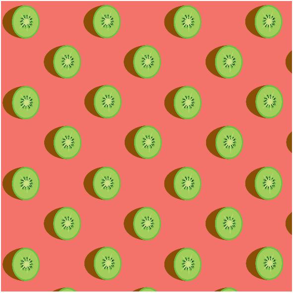Fabric 14870   kiwi na living coral