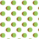 Tkanina 14873   kiwi on white