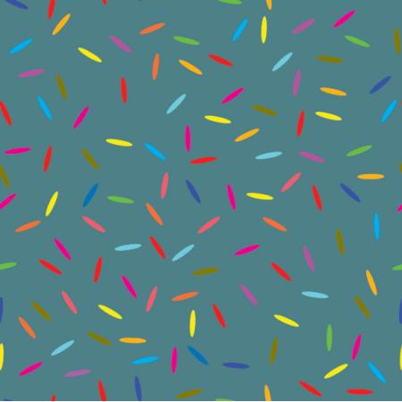 Tkanina 14891 | konfetti brittany blue XL
