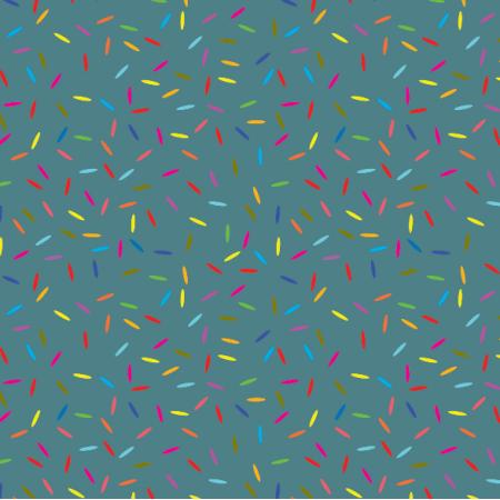 Tkanina 14892 | konfetti brittany blue Small