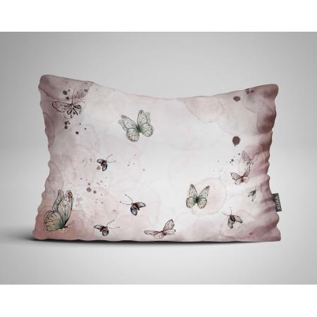 Tkanina Panel poduszka Motyle