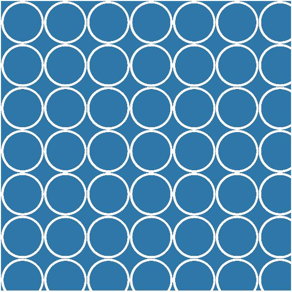 Fabric 1655 | blue circles