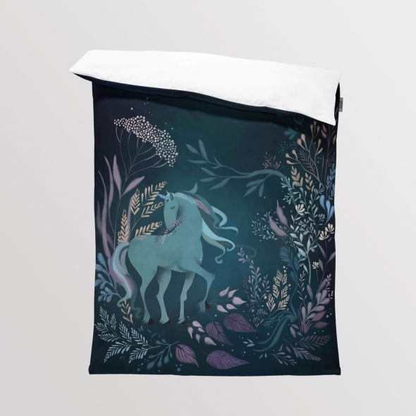 Fabric Bedding/Blanket Unicorn