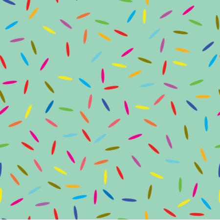Fabric 14905 | konfetti minty xl