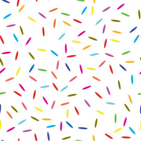 Fabric 14909 | konfetti white xl