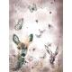 Tkanina Panel na Kocyk/Pościel Motyle