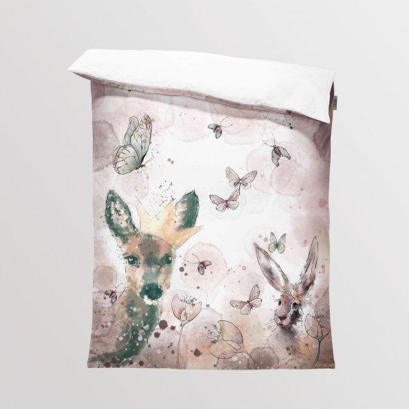 Fabric Bedding/Blanket Butterflies
