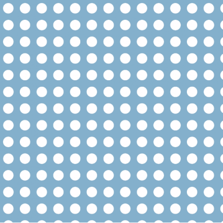Fabric 1656 | blue dots