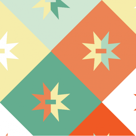 14952 | Geometryczne - mix Pastelowy XL