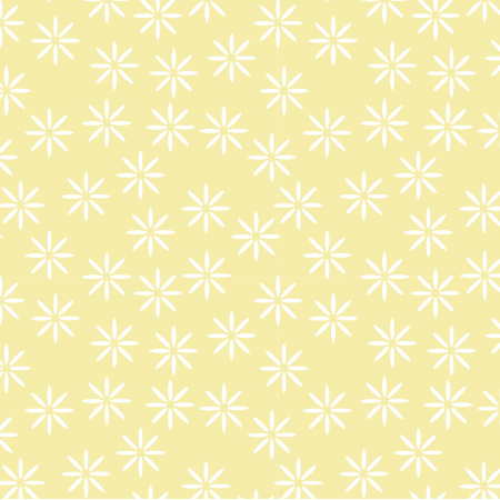 Fabric 14962 | stokrotki mellow yellow xl