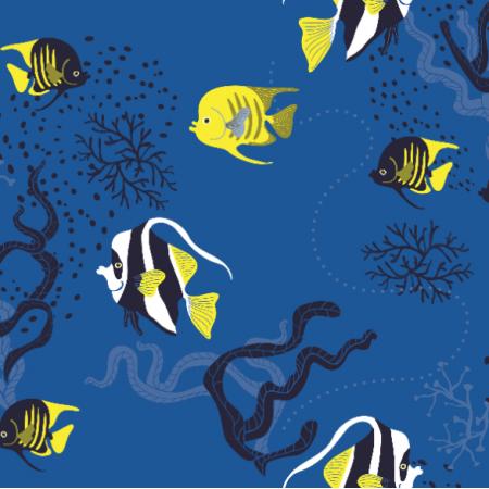 Fabric 14989 | rybki