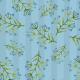 Fabric 15024 | Watercolors blue flowers