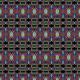 Tkanina 15075   cyrkowe twarze