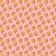 Tkanina 15083 | sloth on pink