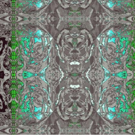 Fabric 15084 | zielono-szare przestworza0