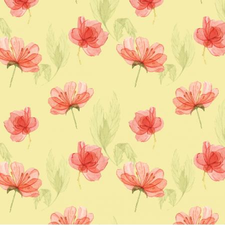 Tkanina 15178 | Kwiatki na zółtym Small