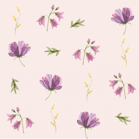Fabric 15188 | wiosenne jasny fiolet XL