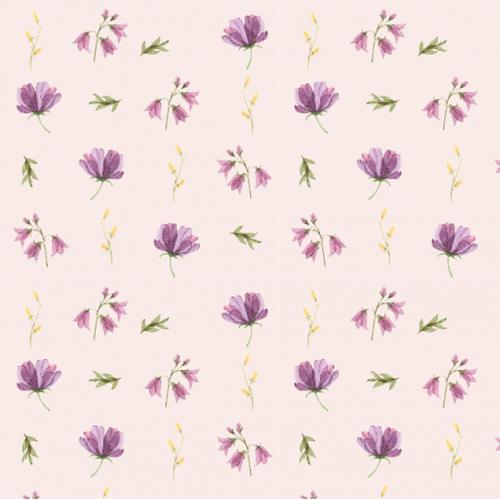 Fabric 15189 | wiosenne jasny fiolet Small