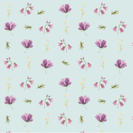 Fabric 15193 | wiosenne niebieski Small