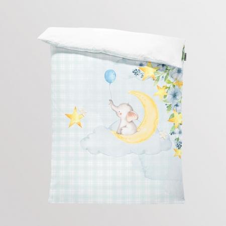 Tkanina Panel na Kocyk/Pościel Little love boy 1