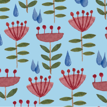 Fabric 15269 | blue aprill