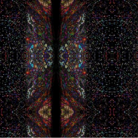 Fabric 15363 | Tęczowe pasy