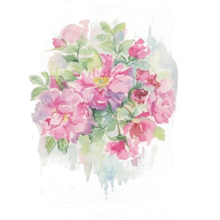 Tkanina 15371 | Dzika Róża