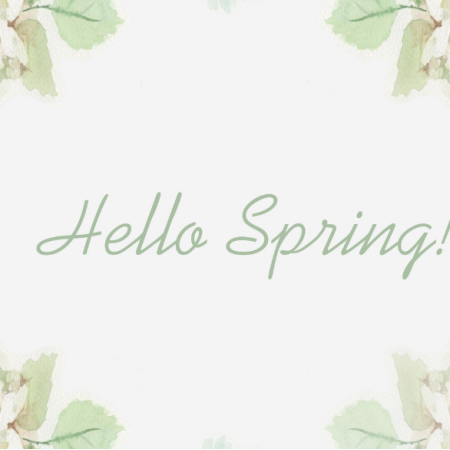 15418 | Hello Spring Pillow