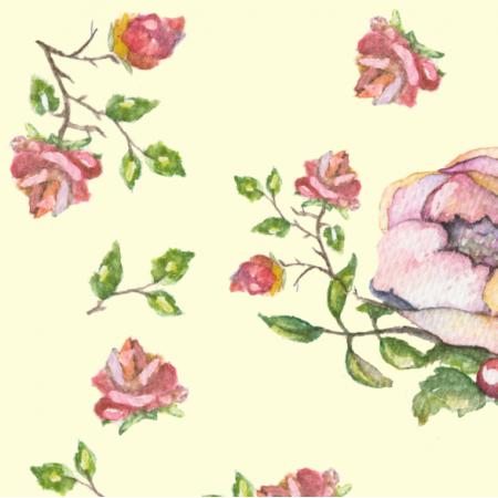 Fabric 15438 | róże roziroz0