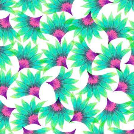 Fabric 15454 | tropical beach